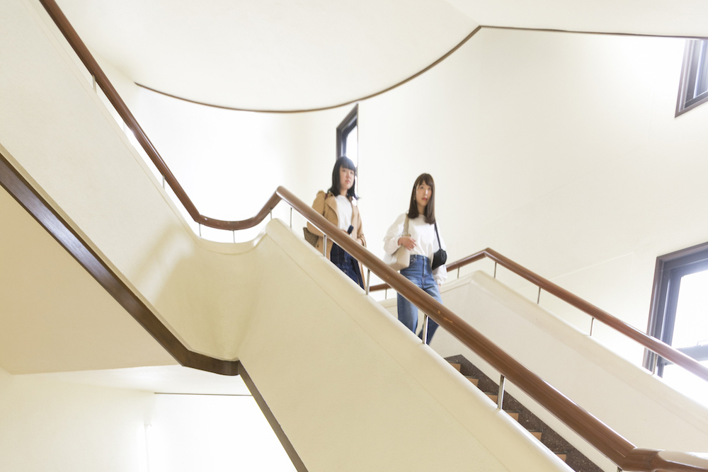 C校舎階段