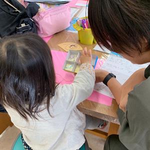 滋賀県多賀町との木育による造形プロジェクト